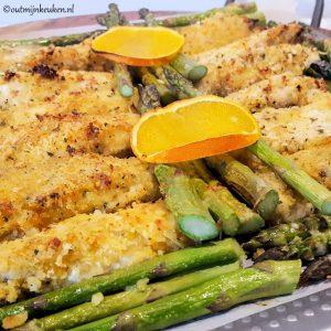 hoofdgerechten kip krokante kip met asperges