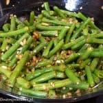 bijgerechten groente/fruit recept sperziebonen salade