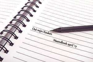 maandboeken maandboek april '17