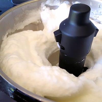 chocolademousse eiwit kloppen