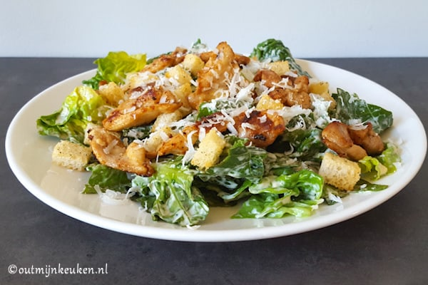 recept caesar salad