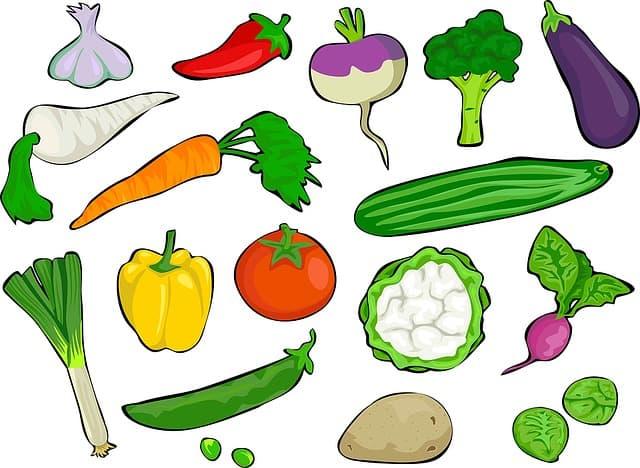 vitamine A groentes