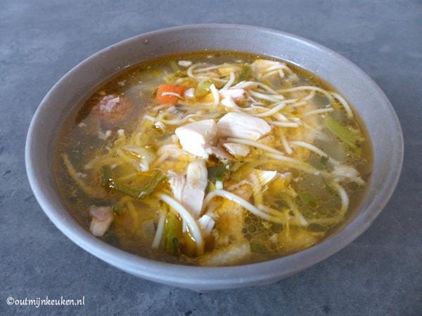 ouderwetse kippensoep recept