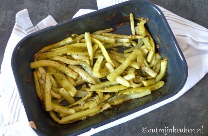 Gebakken komkommer recept