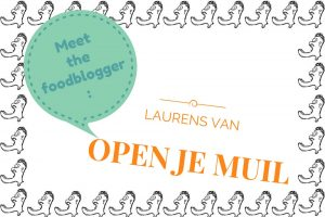 Meet the foodblogger Open je Muil