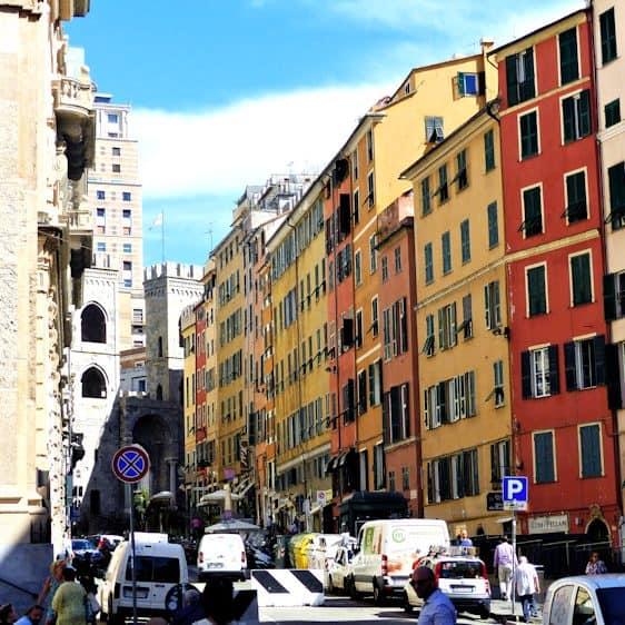 Genua, Ligurië, Italië