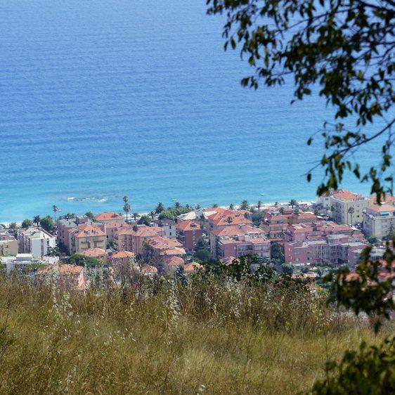 Uitzicht op de Middellandse zee