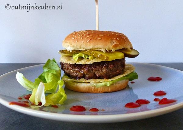 Summer crisp parmesan cheeseburger copycat