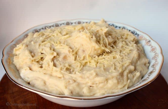 Aardappelpuree uit de slow cooker
