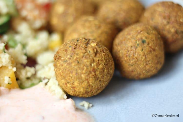 Falafel met couscous