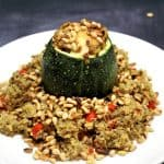 gevulde courgette met couscous