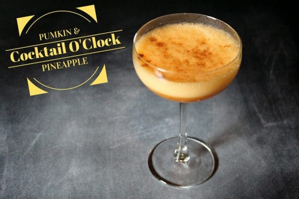 Pumkin Pineapple cocktail