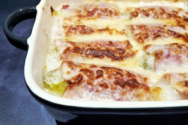 witlof met ham in bechamelsaus