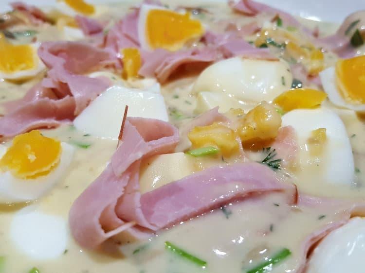 eierragout met ham
