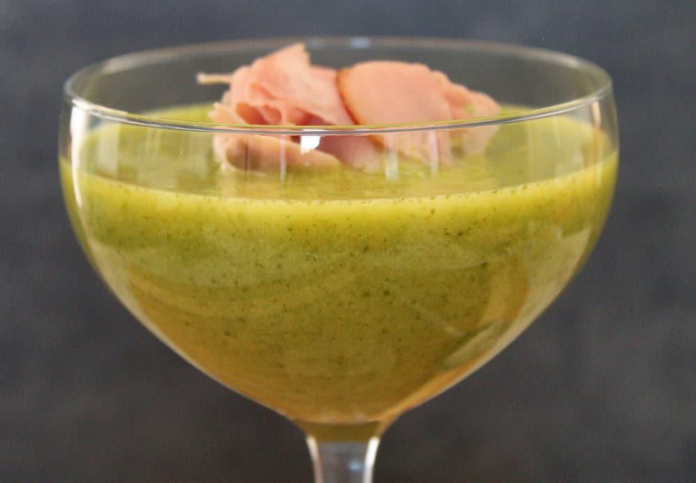 sla komkommersoep